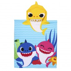 PONCHO POLYESTER APPLICATIONS BABY SHARK