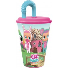 Cry Babies Tumbler with Straw