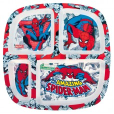 Spiderman bamboo plate