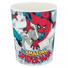 Spiderman bamboo tumbler