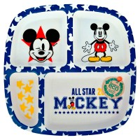 Mickey Mouse bamboo plate