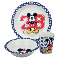 Mickey Mouse bamboo Breakfast set