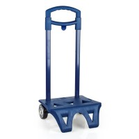 Trolley for backpack Blue