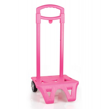 Trolley for backpack pink