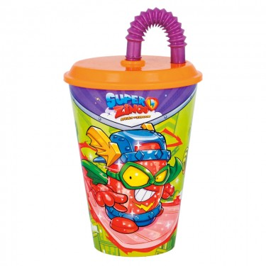 Superzings Tumbler with Straw
