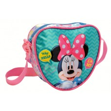 Heart Shoulder Bag Minnie Oh My!