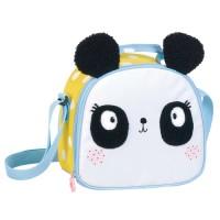 Lunch Bag Lemon Ribbon Panda