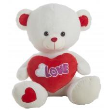 Teddy Heart Bear With Light 50cm