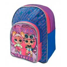 LOL Surprise glitter Backpack 35cm