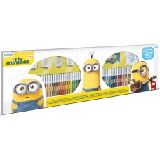 Minions stamps and felt tip pens