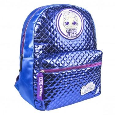 LOL Surprise fashion blue backpack 40cm