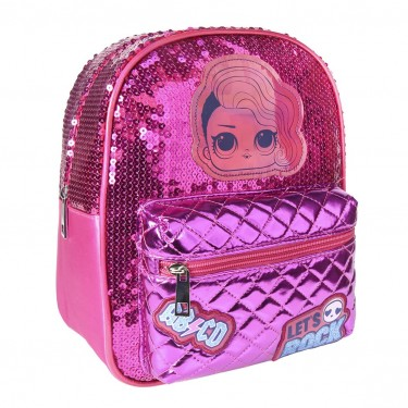 LOL Surprise glitter backpack 26cm
