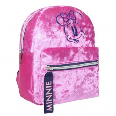 Minnie Mouse furry Sherpa backpack 26cm