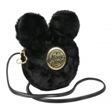 Mickey Mouse furry Sherpa shoulder bag