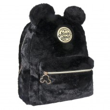 Mickey Mouse furry Sherpa backpack 33cm