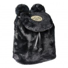 Mickey Mouse furry Sherpa backpack 25cm
