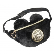 Mickey Mouse furry Sherpa fanny pack