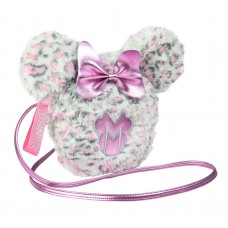 Minnie Mouse furry Sherpa shoulder bag