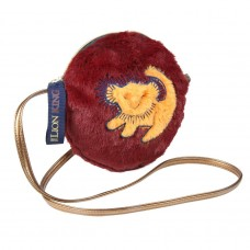 Lion King furry Sherpa shoulder bag
