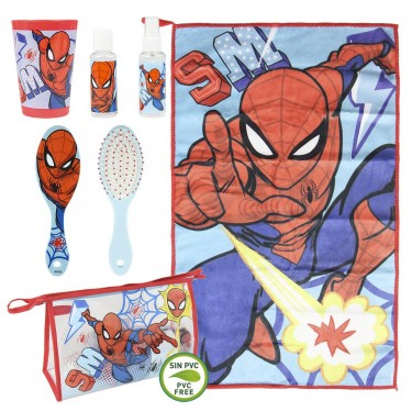 Spiderman Toilet Bag Set