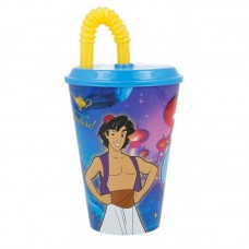 Aladdin Tumbler with Straw