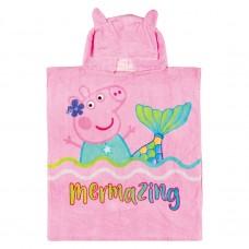 Peppa Pig cotton towel poncho