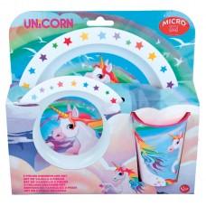 Unicorn micro Breakfast set