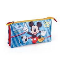 Mickey Mouse triple pencil case