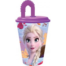 Tumbler with Straw Frozen 2