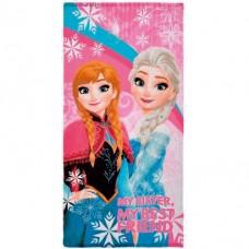Disney Frozen Microfiber Towel Pink