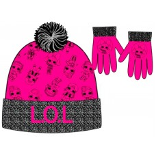 LOL Surprise hat and gloves