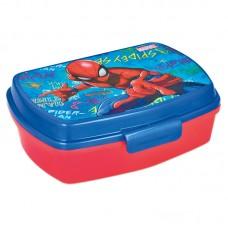Lunch Box Spiderman graffiti