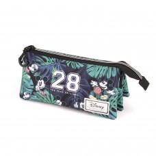 Mickey Sunny 28 triple pencil case