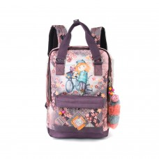 Forever Ninette fun backpack bicycle