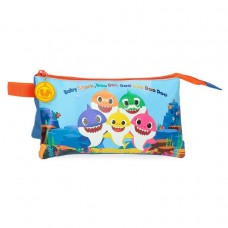 Baby Shark triple pencil case