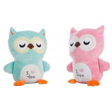 Owl Plush Toy I Love You 22cm