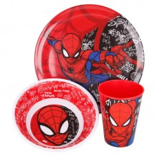 Spiderman micro Breakfast set