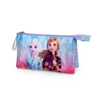 Disney Frozen triple pencil case