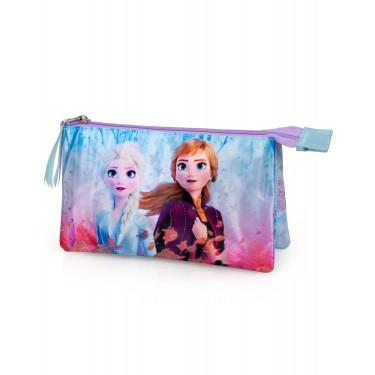 Disney Frozen triple pencil case
