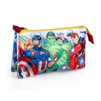 Avengers triple pencil case