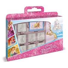 Disney Princess box with 7 stamps and activities