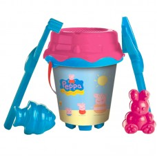 Peppa Pig Bucket with accessories