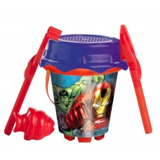 Avengers Bucket with accessories