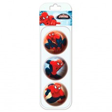 Spiderman blister with 3 balls