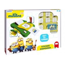 Minions stickers machine