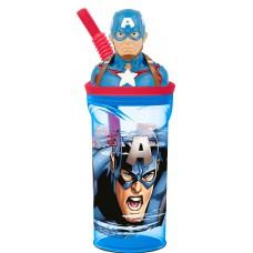 Captain America 3D Tumbler
