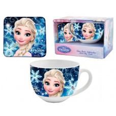 Disney Frozen mug and coaster set