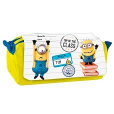 Minions triple pencil case