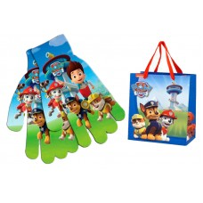 Paw Patrol pack gloves and bag