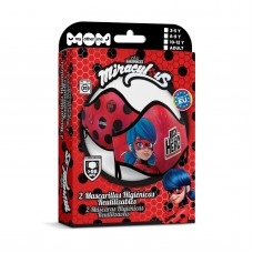 Ladybug set with 2 hygienic masks